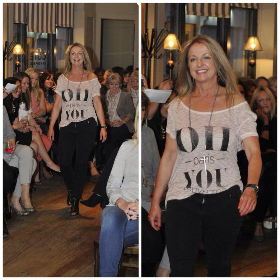 Chloe James St Albans Fashion Show